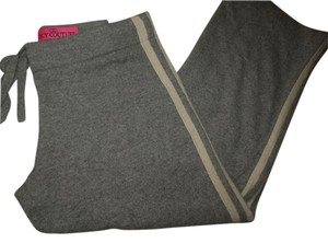 Juicy Couture Lounge Pants 100% Cashmere Capris Grey