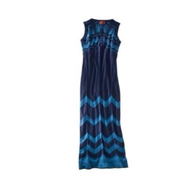Blue Maxi Dress by Missoni for Target New With Tags