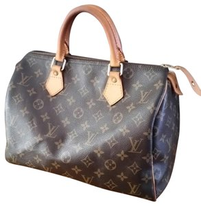 Louis Vuitton Neverful Deauville Satchel in Brown