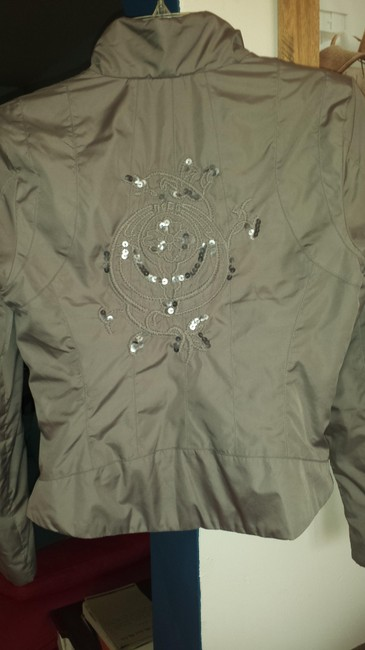 Candie's Taupe-pink lined Jacket Image 1