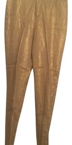 Ralph Lauren Straight Pants Gold