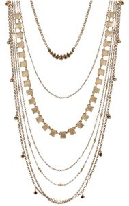 Lucky Brand 60% OFF! BRAND NEW Lucky Brand Gold-Tone Multi-Layer Necklace