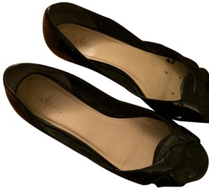 Cole Haan Black patent Wedges