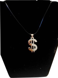 Beautiful Dollar Sign ($) Necklace