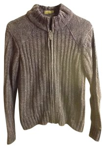 Columbia Multi-colored Thick Warm Comfortable Mock Turtleneck Sweater
