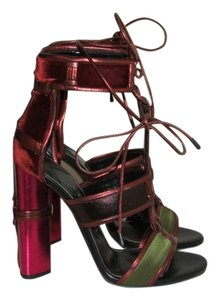 Tom Ford Patchwork Cage Sandals