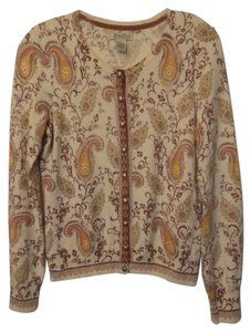 Lucky Brand Paisley Light Cardigan