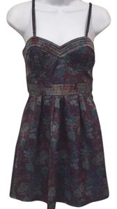 Free People short dress Blue, Purple on Tradesy