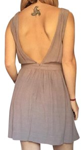 Silence + Noise short dress Taupe on Tradesy