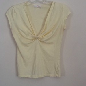 Rebecca Beeson T Shirt Light yellow