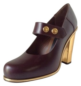 Marni Burgundy Pumps