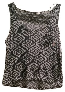 Billabong Top Black & white