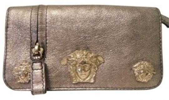Preload https://item4.tradesy.com/images/versace-pewter-couture-wallet-136958-0-0.jpg?width=440&height=440