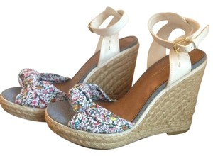 Tommy Hilfiger Wedge Floral Multicolored Wedges