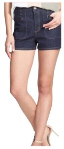 Theory Free People Kate Spade Anthropology Summer Spring Mini/Short Shorts Raw Blue