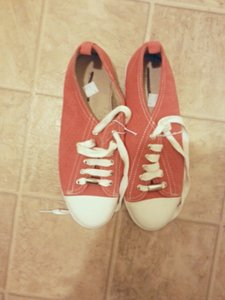 Merona Size 6.5 Orange Athletic