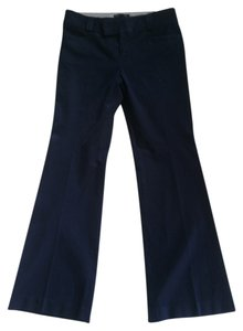 Banana Republic 10 Size 10 Boot Cut Pants Dark Blue