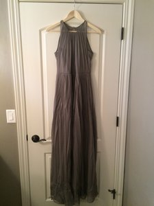 J.Crew Graphite Megan Long Dress