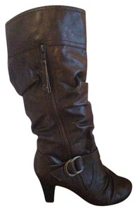 Guess Leather Brown Boots