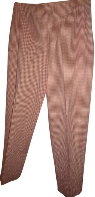 Item - Pink Yellow White Gingham Real Clothes By Capris Size 8 (M, 29, 30)