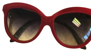 Italia independent red sunglass