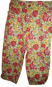 Jones New York Spring Summer Capris Floral