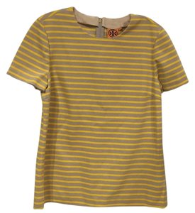 Tory Burch Top Yellow, Khaki