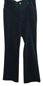 Jones New York Flare Pants Emerald Green
