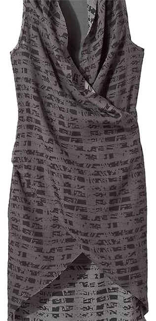 Item - Grey High-low Night Out Dress Size 14 (L)