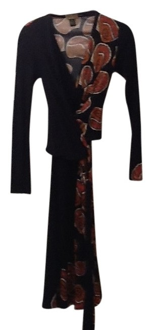 ISSA London short dress Faux Wrap. Silk Tie Front Side Or Back. Signed In Fabric on Tradesy