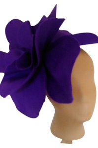 Other Tracey Vest Orchid Felt Oversized Rosette Headband Headpiece