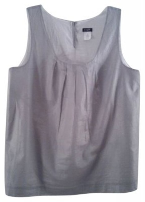 Preload https://item1.tradesy.com/images/jcrew-gray-tank-topcami-size-8-m-13700-0-0.jpg?width=400&height=650