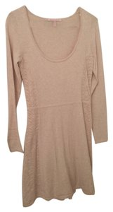 Victoria's Secret short dress Beige on Tradesy
