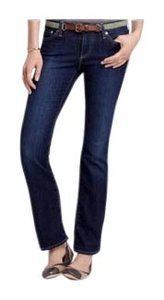 AG Adriano Goldschmied Petite Boot Cut Jeans-Distressed
