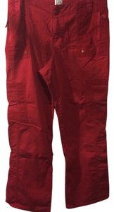 Straight Pants red
