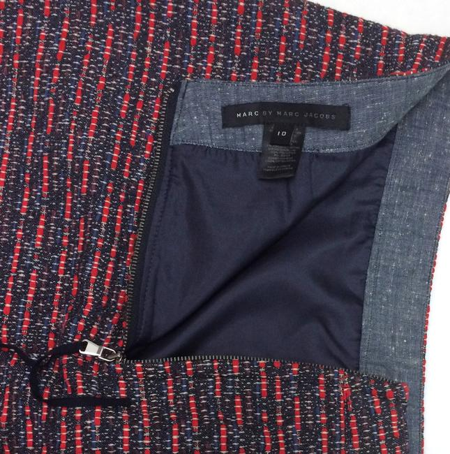 Marc by Marc Jacobs Skirt Blue/Red