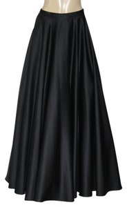 A.B.S. by Allen Schwartz Maxi Skirt Black