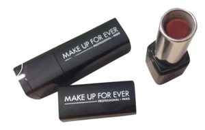 MAKE UP FOR EVER 2 New Make Up Forever Rouge Artist Natural N9 Moisturizing Soft Shine Lipstick Mini 1.5g New Without Box