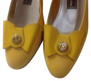 Bally Banana Yellow Flats