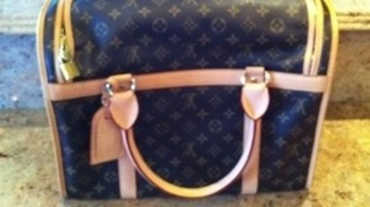 Louis Vuitton Brown Monogram Dog Carrier
