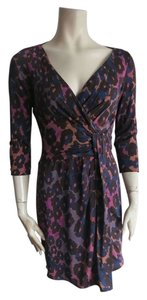 Diane von Furstenberg short dress multicolor on Tradesy