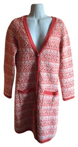Anthropologie Sweater Coat Moth Wool Cotton Cardigan