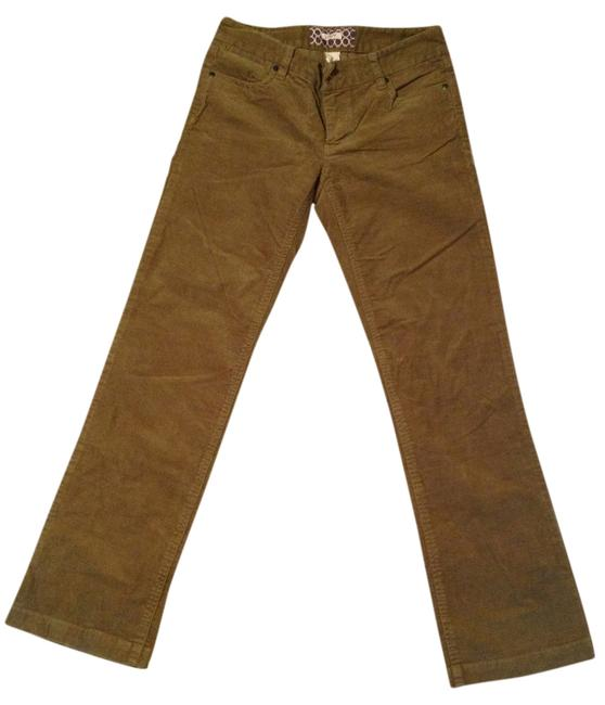 J.Crew Boot Cut Pants Olive Green