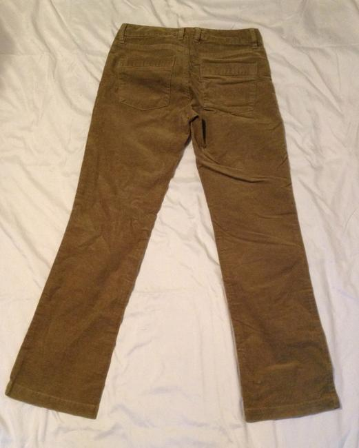 J.Crew Boot Cut Pants Olive Green Image 1