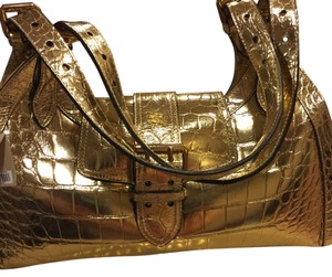 Burberry Tote in Gold