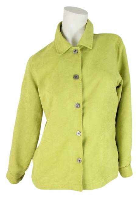 Chico's Lime Green Jacket