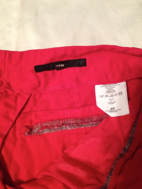H&M Boot Cut Pants Red