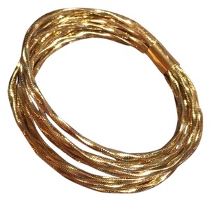Ross-Simons ROSS SIMON 14 K GOLD 9 BANGLE BRACELETS