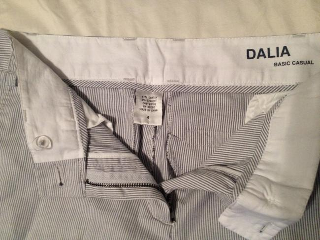 Dalia Relaxed Pants Blue/White Striped