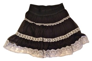A'reve Skirt Black/cream